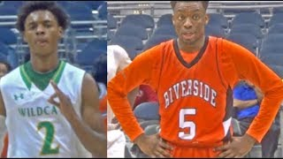 Carlos Curtis and Keontae White go head to head!!  ETSU Commit goes for another TRIPLE DOUBLE!!