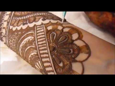 full hand pakistani mehndi design tutorial by mehndi artistica
