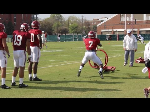 Alabama spring practice, day 4: Dylan Moses & the inside linebackers