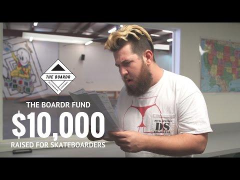 The Boardr Fund Raises Over $10,000 for Skateboarders So Far