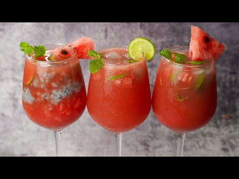 These Refreshing Watermelon Drinks Are Perfect For Summer!