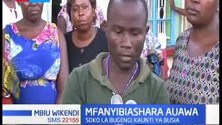 Mfanyibiashara mmoja ameuawa katika soko la Bungengi Kaunti ya Busia