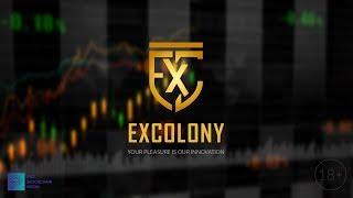 EXCOLONY - Новая биржа 2018 с огромным Airdrop