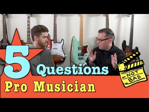Interview with Eric Starr - Five Questions for a Professional Musician
