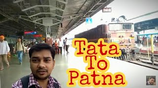 preview picture of video '#tatatopatna, #journey Tatanagar to patna | journey by train | Jamshedpur |'