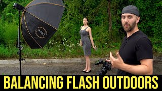 Off Camera Flash Photography Tutorial // How To Balance Flash Outdoors