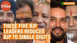 These five BJP leaders reduced #BJP to single digits - YouTube