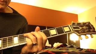 Blues For Richard. Ideas For Playing Blues Guitar