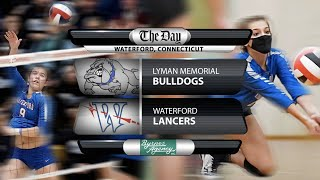 Full replay: Lyman Memorial at Waterford Volleyball