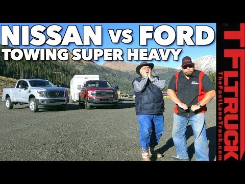 2018 Ford F150 or Nissan Titan XD? Towing 11,000 lbs on the Super Ike!