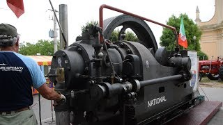 National Gas Engine 40 HP - start up , operation + details