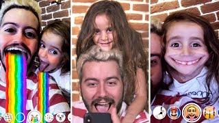 KIZ KARDEŞİMLE FİLTRELERİ DENEDİK (Snapchat ve Instagram)