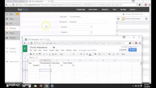 Creating an app (Database) that works with Google Sheets!