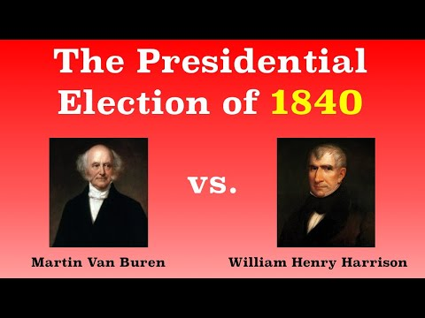 The American Presidential Election of 1840 (видео)
