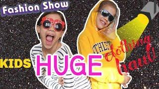 KIDS HUGE CLOTHING HAUL!!!🛍️ #99 VLOG