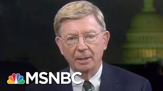 """Conservative George Will On Why Pence Is A """"Sycophantic Poodle"""" 