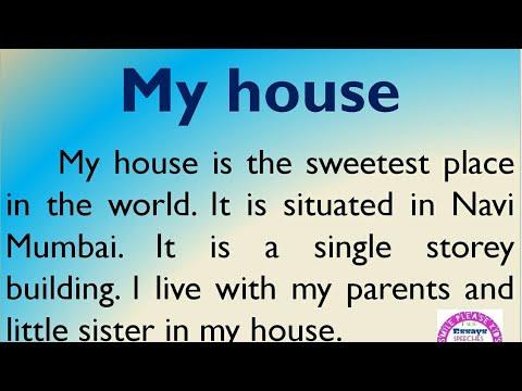 تعبير بالانجليزي عن Dream House