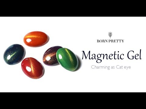 BORN PRETTY Magnetic Cat Eye Gel Polish-Tutorial
