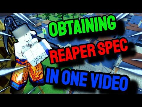 [AUT] Getting Reaper Spec In One Video.