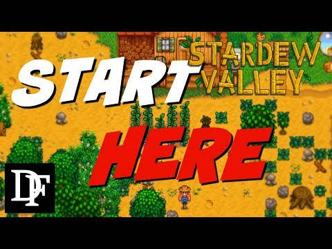 Best Tips For New Players! Giveaway! - Stardew Valley
