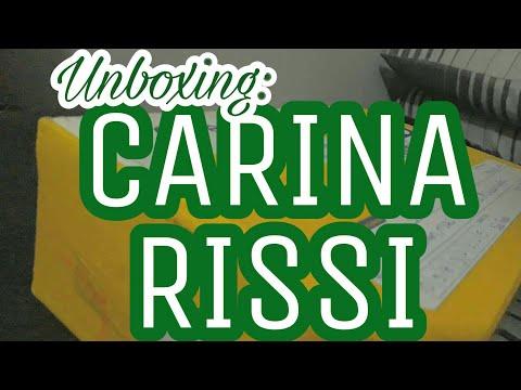 UNBOXING CARINA RISSI (#04)   Livraneios