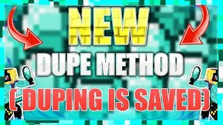 INSANE NEW DUPING METHOD HOW TO DUPE IN MINECRAFT NO HACKED CLIENT
