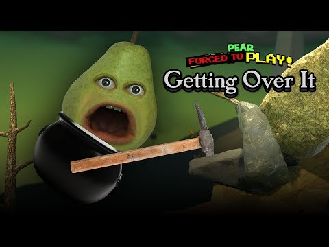 Pear FORCED to Play - GETTING OVER IT #1