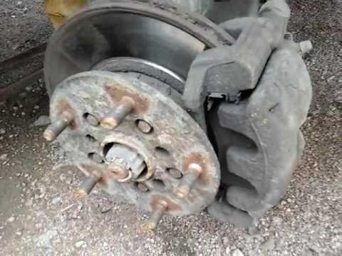 Как заменить колодки ford, ремонт тормозной системы ФОРД Транзит