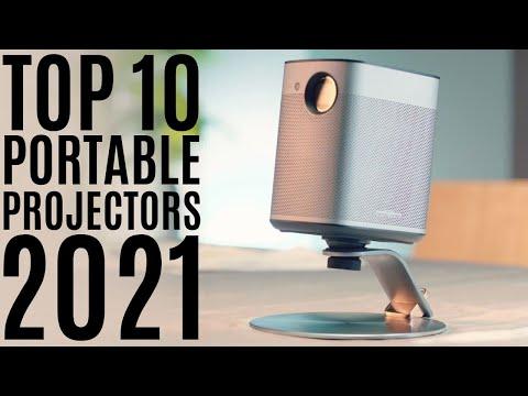 Top 10: Best Smart Portable Projectors for 2021 / DLP Mini Projector / Video Wi-Fi Projector