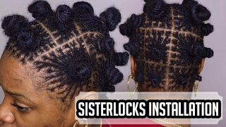ITS OFFICIAL- Sisterlocks Installation | Drknlvely