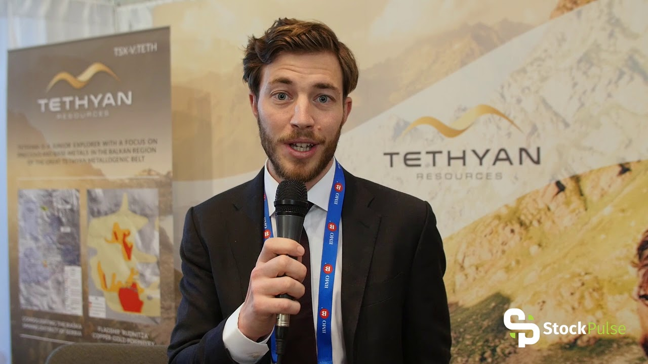 Tethyan Resources Catalyst Clip with CEO Fabian Baker at the 2018 PDAC in Toronto