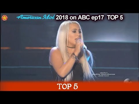 "Gabby Barrett sings  ""Last Name"" FABULOUS  American Idol 2018 Top 5"