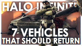 7 Vehicles That Should Return in Halo Infinite