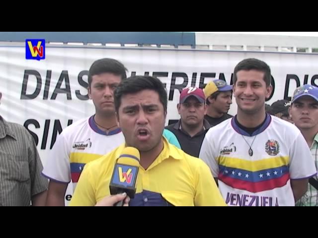 Diputado Conrado Pérez Linares mostró su apoyo a los trabajadores de Empresas Polar
