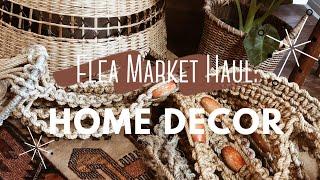 Flea Market Haul | Boho Home Decor