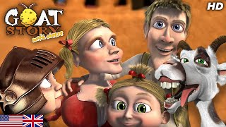 Goat story 2 with Cheese   Full Animaton Movie   English Family Cartoon   Free Animated movie