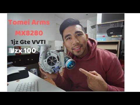 Tomei Arms M8280 1JZ-GTE VVTi Turbo Unboxing - смотреть онлайн на