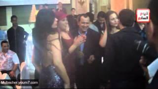 أمينة تحتفل بزفافها فى حضور نجوم الفن