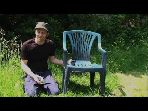 Tipp zum Auffrischen von Kunststoff-Gartenmöbel