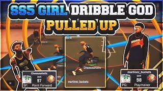 AFTER TURNING SS5 GIRL INTO DRIBBLE GOD😱•SHE PULLS UP ON ME😳 • DID I GET EXPOSED NBA 2K17🤔