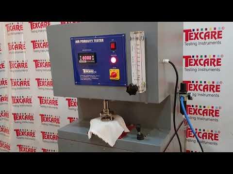 Air Porosity Tester