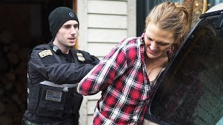 MODEL UNDER ARREST TRIES TO TAKE ME HOME!