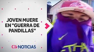 Banda de Cerro Navia mostró sus armas y juraron venganza por muerte de joven