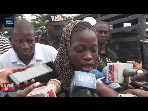 Police parade young  suspected female cultists and murderers
