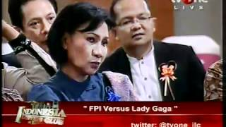 FPI Versus Lady Gaga  Indonesia Lawyers Club