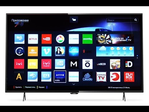 Обзор телевизора Ultra HD 4K PHILIPS 49PUT6101/60