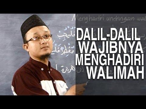 Video Serial Fikih Keluarga (31): Dalil Dianjurkannya Menghadiri Undangan Walimah - Ustadz Aris Munandar