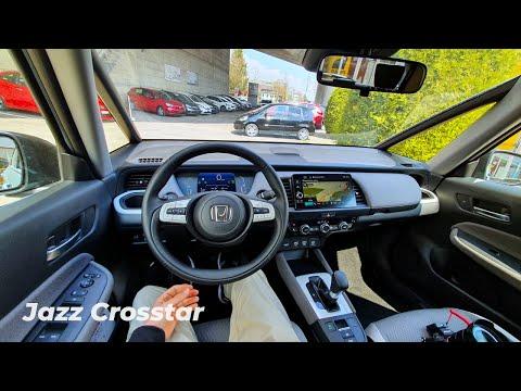 New Honda Jazz Crosstar 2021 Test Drive Review POV