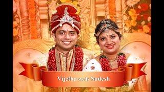 GSB Wedding Vijetha weds Sudhesh Video Highlights