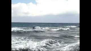 preview picture of video 'Kitesurfing Aphrodite Beachfront Village North Cyprus'
